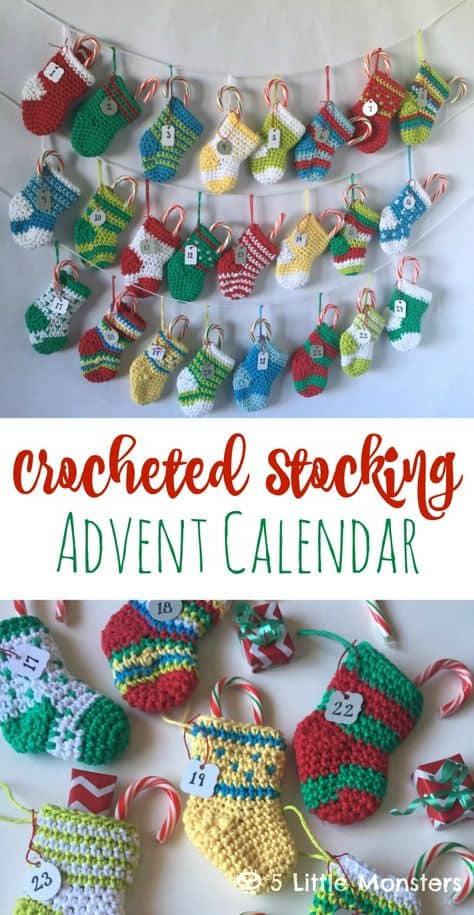 This Mini Christmas Stockings Free Pattern Is The Sweetest The Whoot
