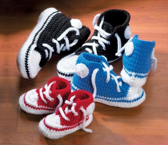 Crochet Converse Free Patterns