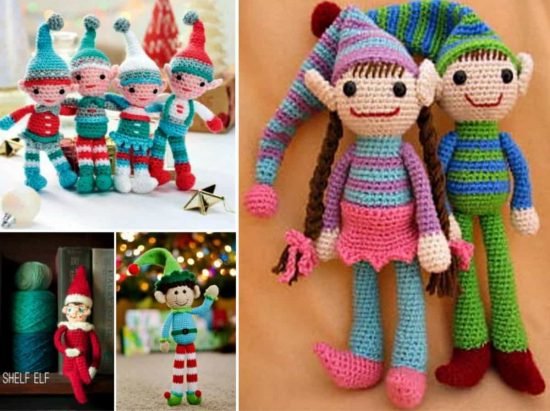Crochet Elves Free Crochet Patterns