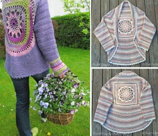 Crochet Jackets Free Patterns The WHOot