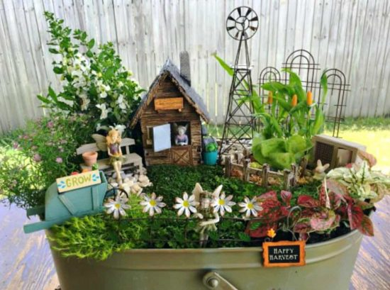 Fairy Garden Tutorial