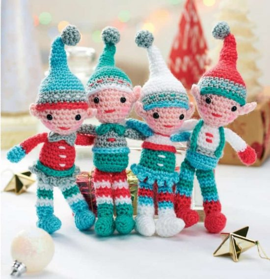 Christmas Crochet Blanket Free Pattern.The Sweetest Crochet Christmas Ornaments Patterns The Whoot