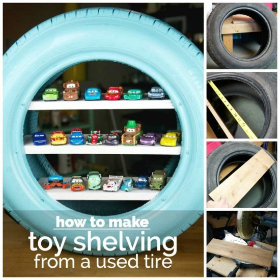 Tire Toy Shelving