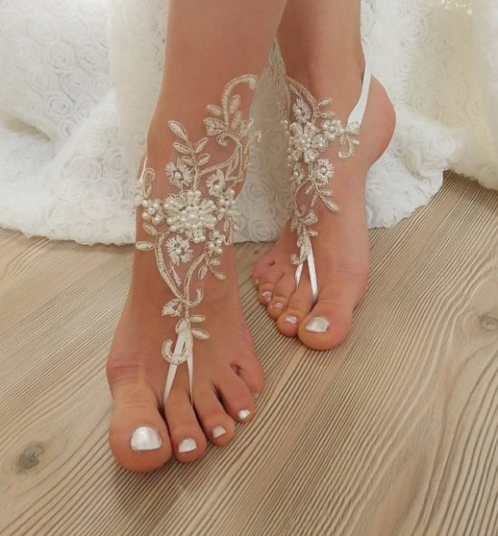 6de22fd42 Crochet Barefoot Sandals The Cutest Collection
