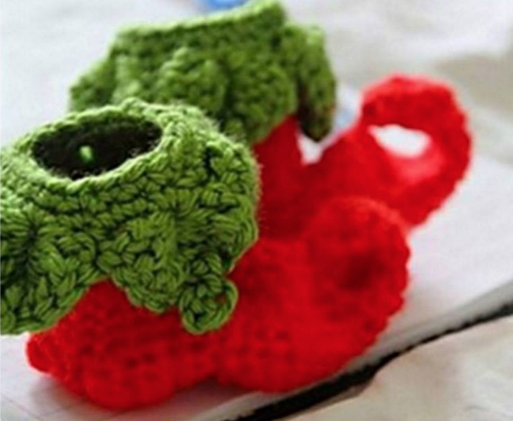 Crochet Elf Baby Shoes Free Pattern With Tutorial