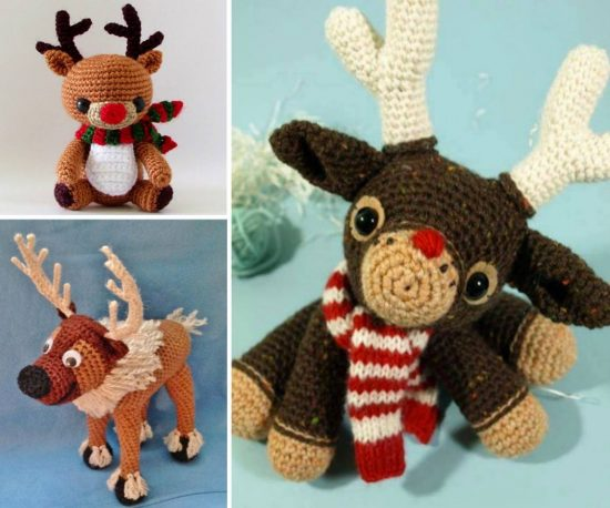 Free Reindeer Crochet Patterns