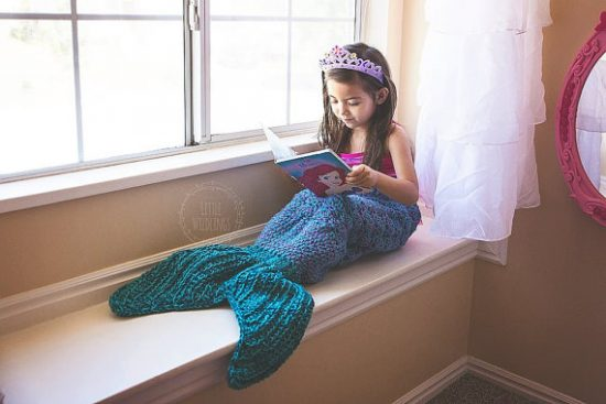 Mermaid Crochet Tail Etsy
