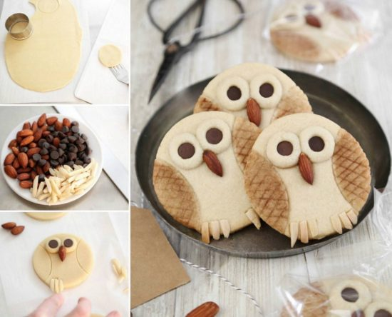 Buttery Owl Cookies