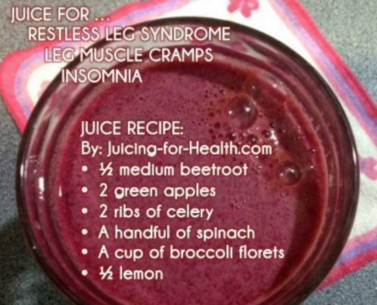 Restless Legs Syndrome Juice