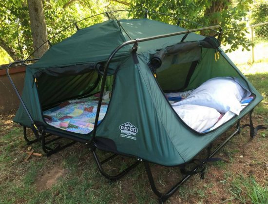Double Tent Cot & Kamp Rite Double Tent Cot Is Perfect For Camping | The WHOot