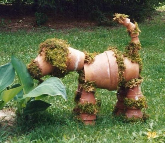 Clay Pot Dog