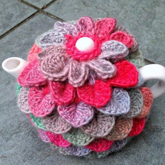 Crochet Crocodile Tea Cozy Free Pattern