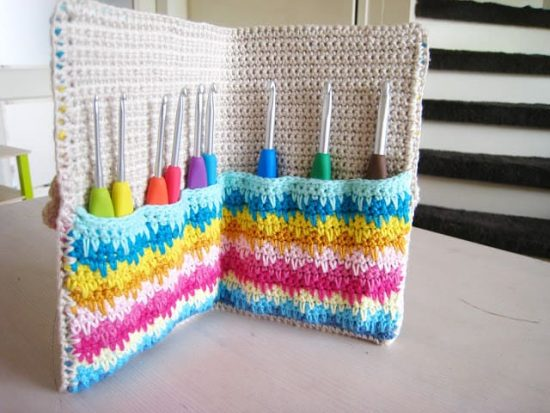 Crochet Hook Case All The Best Patterns The Whoot