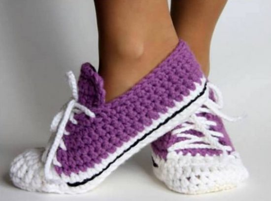 Crochet Sock Slippers