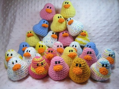 Ducks Free Crochet Pattern