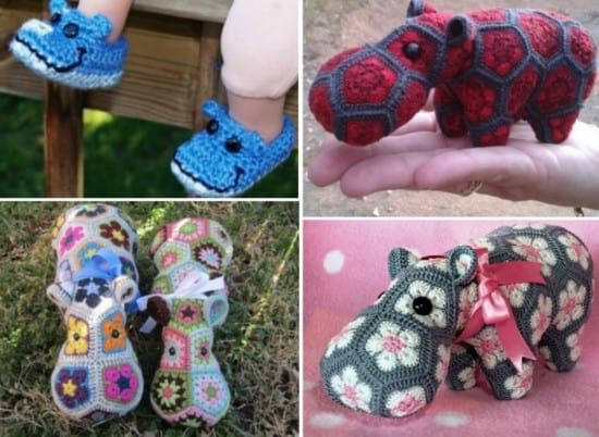 Hippo Crochet Projects