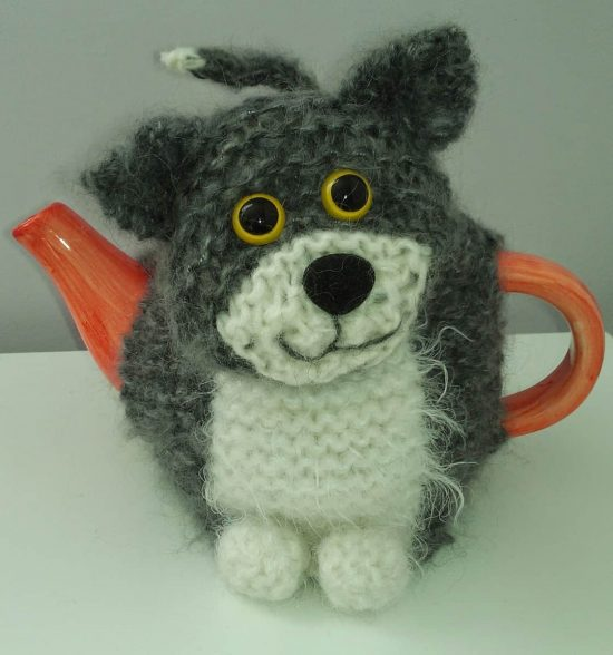 Knitted Cat Tea Cozy Free Pattern