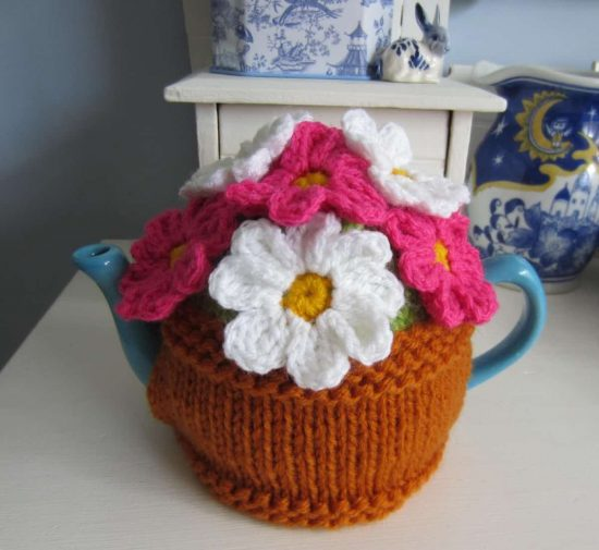 Knitted Tea Cozy Free Pattern