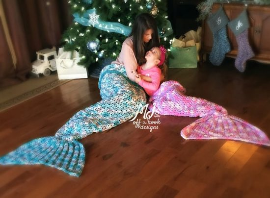 Mermaid Blanket Crochet Pattern