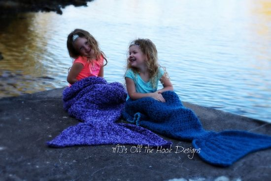 Mermaid Crochet Tail Blanket Pattern 2
