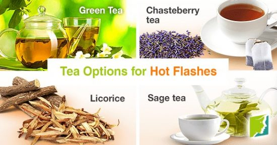 Tea Options for Hot Flashes