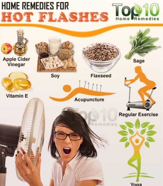 Top 10 Remedies Hot Flashes