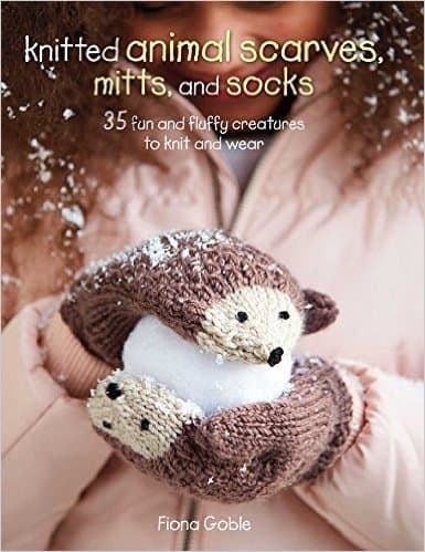 35 Patterns Knitted Animal Scarves, Mitts, and Socks