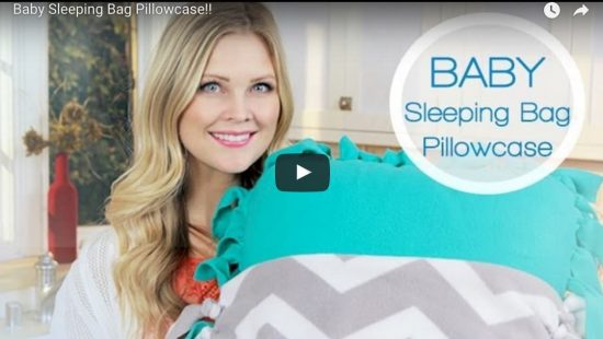 Baby Sleeping Bag Tutorial