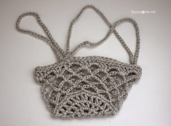 Crochet Hanging Basket Pattern