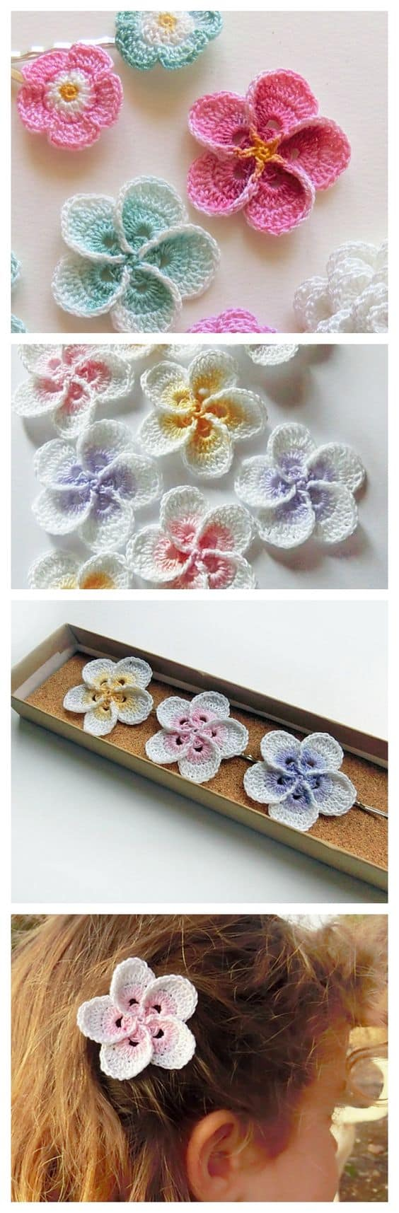 Crochet Plumeria Flower Pattern