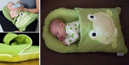 DIY Pillowcase Sleeping Bag for Baby