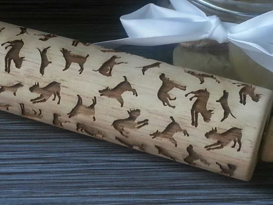 Dog Cookie Rolling Pin