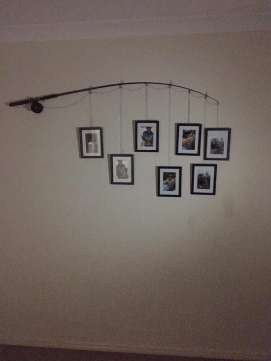 Fishing Rod Photo Wall Art