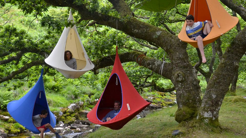 Hanging Cacoon Tents