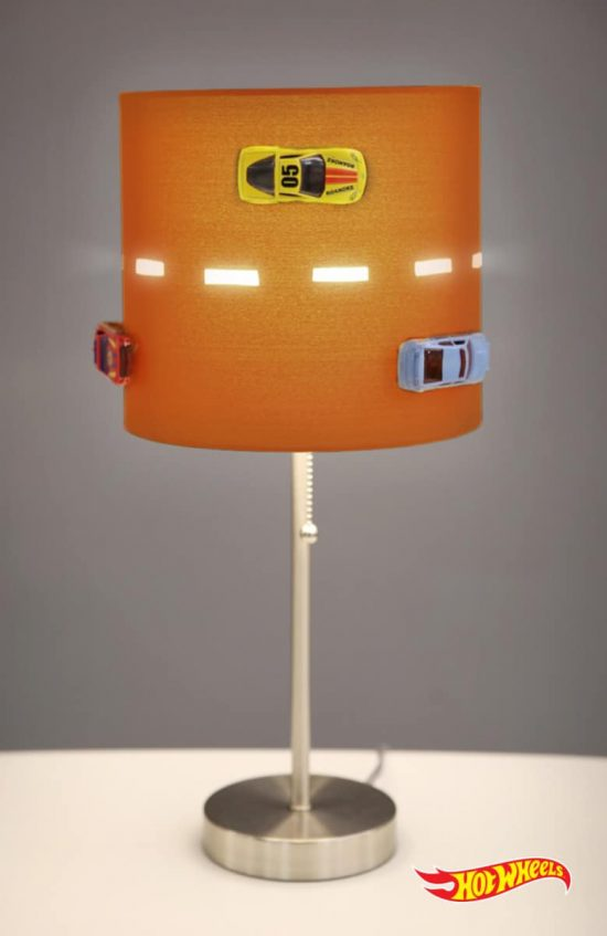 Hot Wheels Lamp