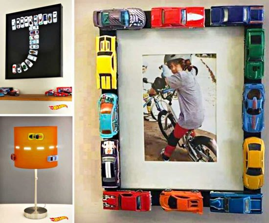Hot Wheels Photo Frame