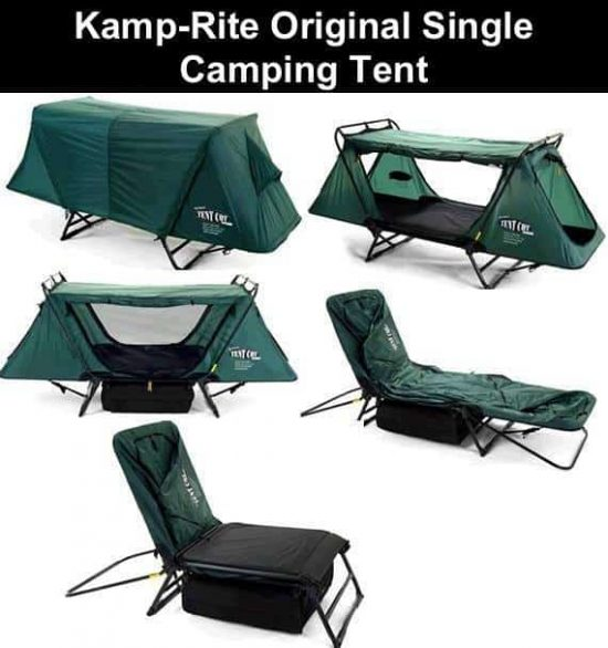 K& Rite Original Single Cot Tent  sc 1 st  The WHOot & Kamp Rite Double Tent Cot Is Perfect For Camping | The WHOot