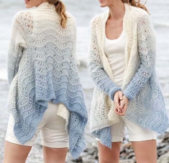 Knitted Jacket Free Pattern