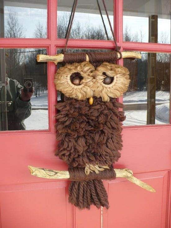 Macrame Owl Necklace Instructions Video The Whoot