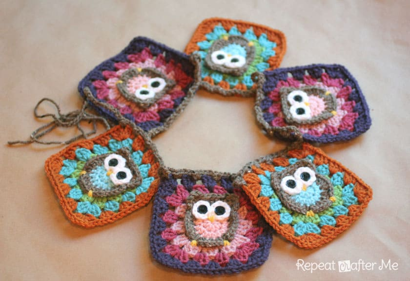 Owl Granny Square Afghan Pattern Free Video Tutorial