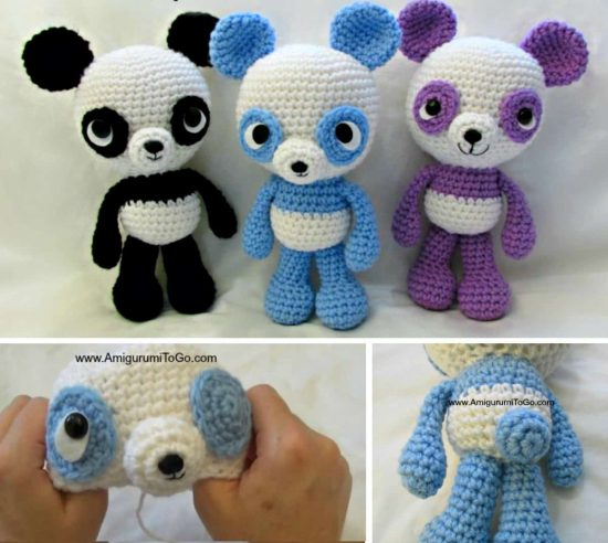 Super Cute Panda Crochet Patterns You Will Love The Whoot