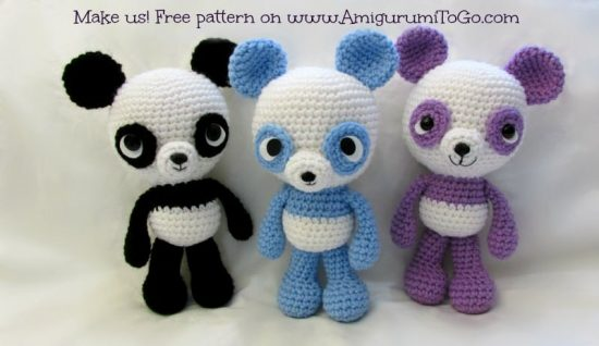 Amigurumi Easy Patterns Free : Panda crochet patterns the cutest collection the whoot