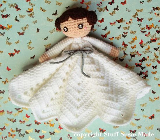 Princess Leia Blanket Free Crochet Pattern - lots of Star Wars Free Crochet Patterns on our site