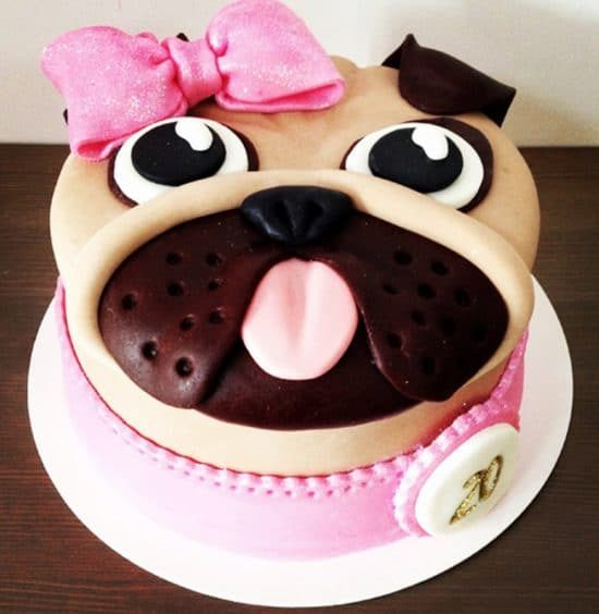 How To Make A Pug Cake Template