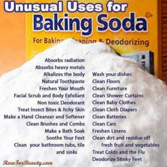 Unusual Uses for Baking Soda - recipes and tutorials