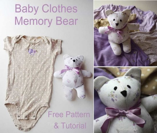 Memory Bears Free Patterns Video Tutorial The Whoot