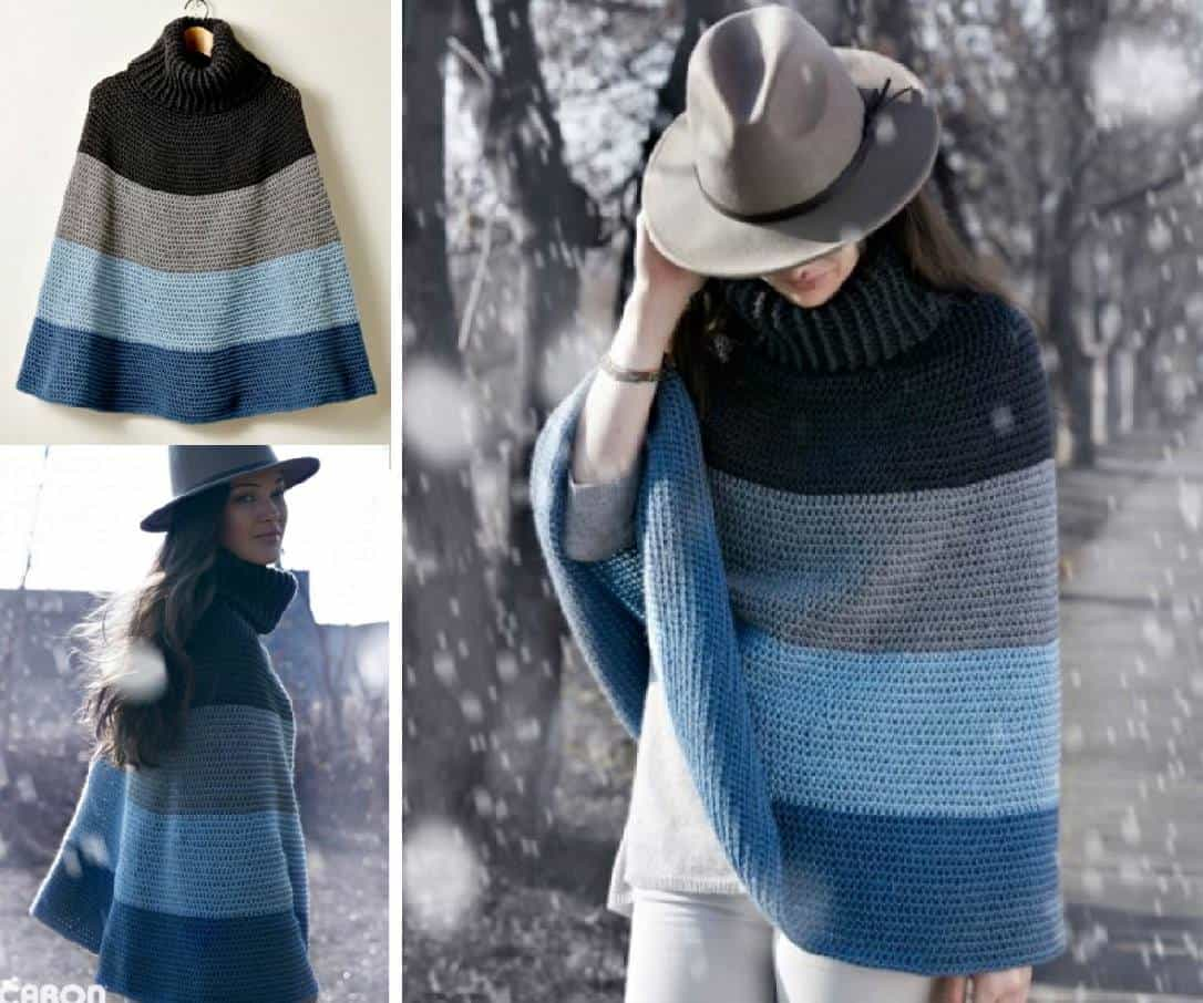 Crochet Cape Pattern Will Be A New Favourite | The WHOot