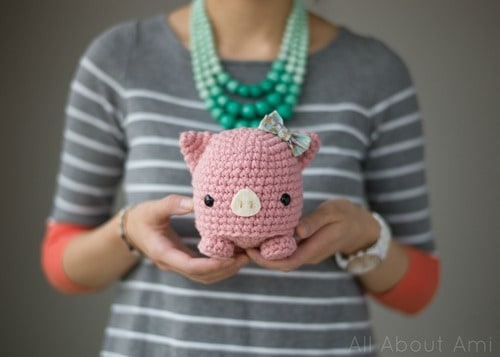 Crochet Pig Pattern Video Tutorial Lots Of Cute Ideas