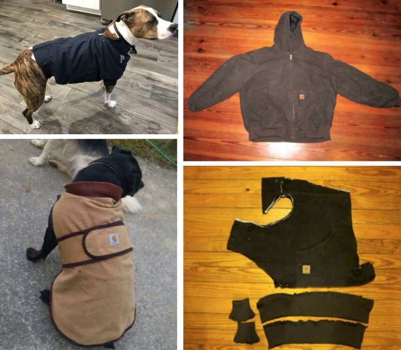 dog coat template - diy dog coat pattern quick and easy project video tutorial