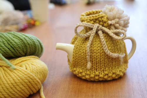 Kip Tea Cosy Free Knitting Pattern